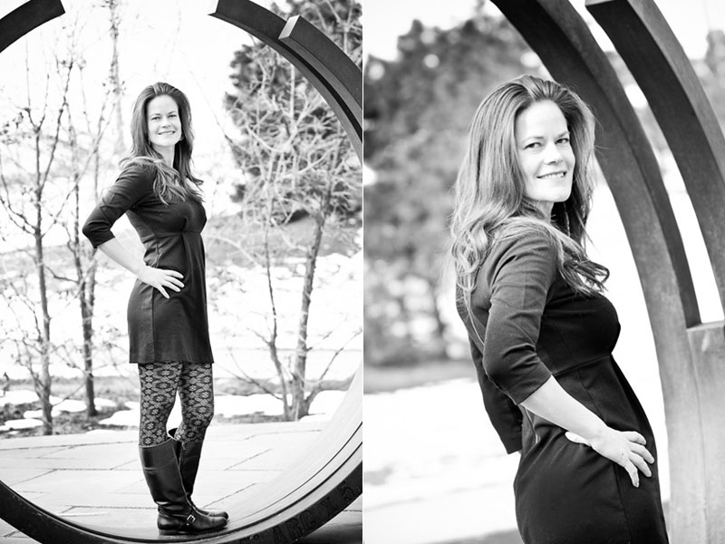 Female headshot photography in Denver