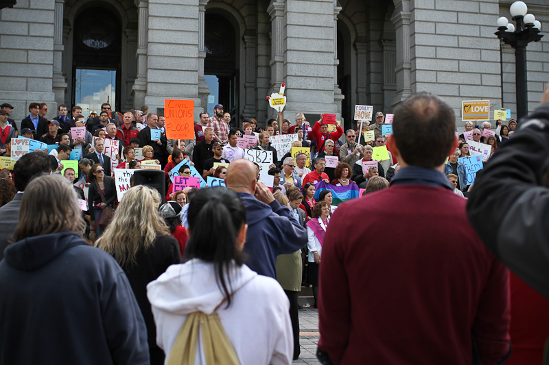 Let Them Vote Rally - Denver Civil Union photos